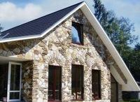 Монтаж фасадов, облицовка зданий кирпичом и камнем в Кстове